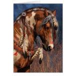 War Pony Notecard Greeting Card