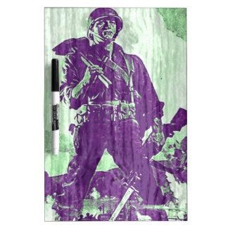 War Poster 1 Dry-Erase Whiteboard