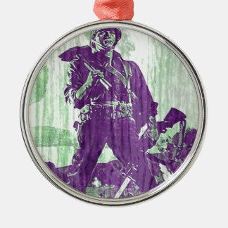 War Poster 1 Metal Ornament