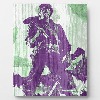 War Poster 1 Photo Plaques