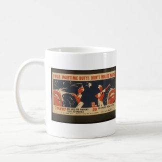War Poster Mug