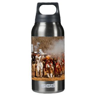 War - Revolutionary War - The musket drill Insulated Water Bottle