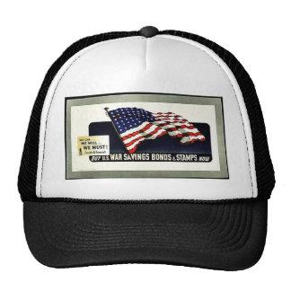War Saving Bonds And Stamps Trucker Hat