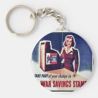 War Savings Stamps Key Chains