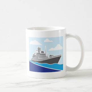 War Ship Coffee Mug