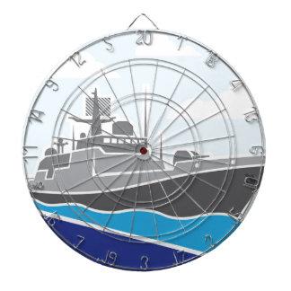 War Ship Dart Board