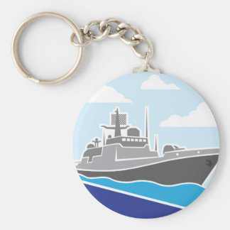 War Ship Keychain