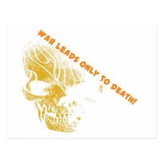 War Skull 2 Postcard
