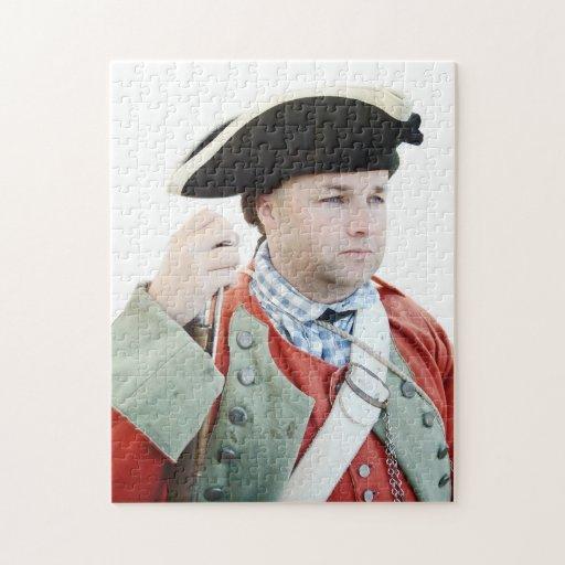 War Soldier Portrait Puzzle
