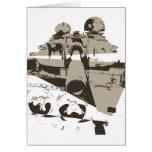 War Tank Greeting Cards