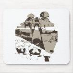 War Tank Mouse Pad