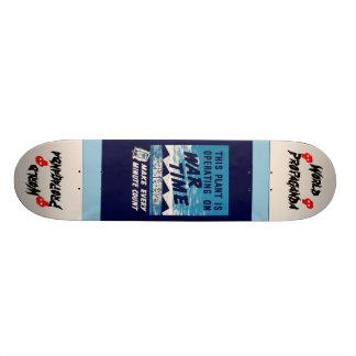 War Time Skateboard!