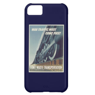War Traffic Must Come First WW-2 Case For iPhone 5C