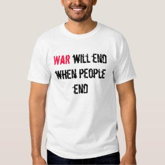 War Will End Shirt