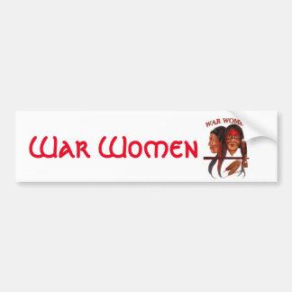 War Women Bumper Sticker