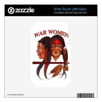 War Women Decal For iPod Touch 4G