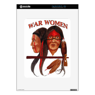 War Women Decal For The iPad