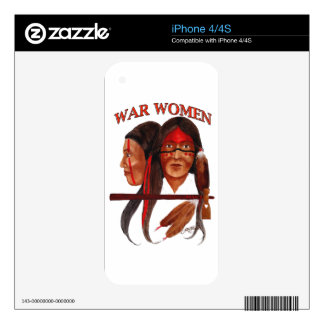 War Women Skins For The iPhone 4S