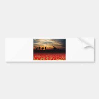 War Zone Bumper Sticker