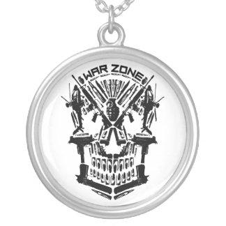 War Zone Skull Necklace