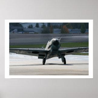 Warbird - Bf-109 Poster