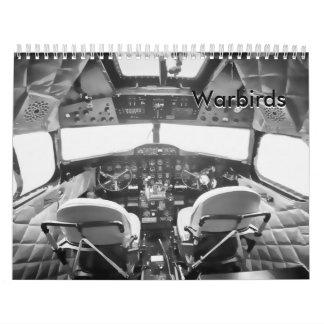 Warbirds - avión de la Segunda Guerra Mundial Calendario
