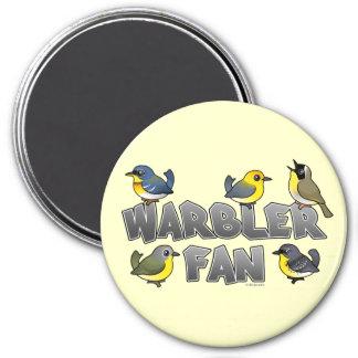 Warbler Fan Magnet