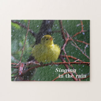Warbler Jigsaw Puzzle