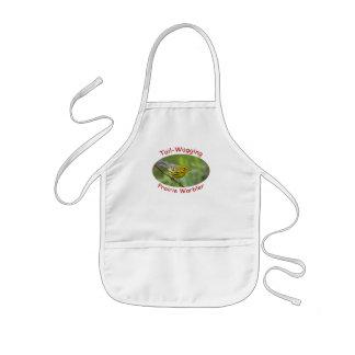 warbler kids' apron
