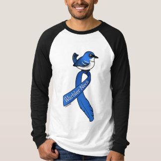 Warbler Neck Ribbon Cerulean T-Shirt