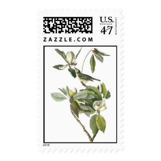 Warbling Vireo, John Audubon Postage Stamp
