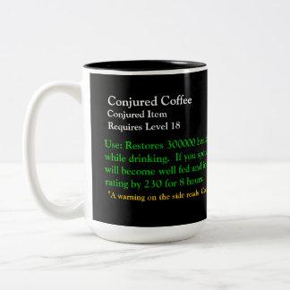 Warcraft Mug - Conjoured Coffee - UPDATED