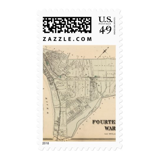 Ward 14 of Pittsburgh, Pennsyvania 2 Postage