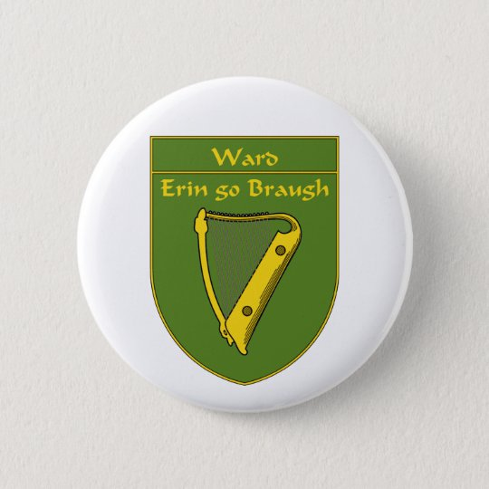 Ward 1798 Flag Shield Pinback Button