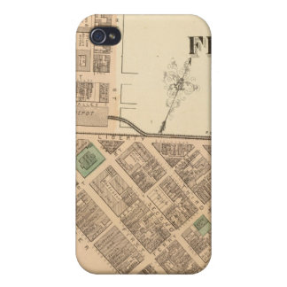 Ward 1 of Pittsburgh, Pennsyvania iPhone 4 Covers