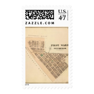 Ward 1 of Pittsburgh, Pennsyvania Stamp