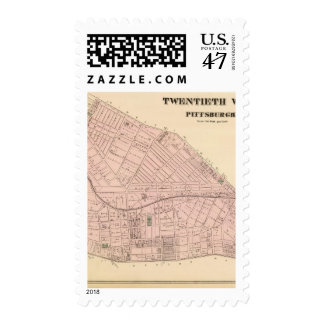Ward 20 of Pittsburgh, Pennsyvania Stamp