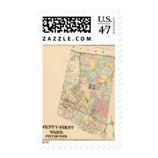 Ward 21 of Pittsburgh, Pennsyvania Stamp