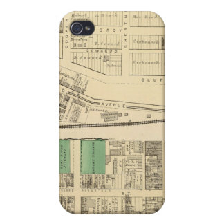 Ward 6 of Pittsburgh, Pennsyvania Cover For iPhone 4