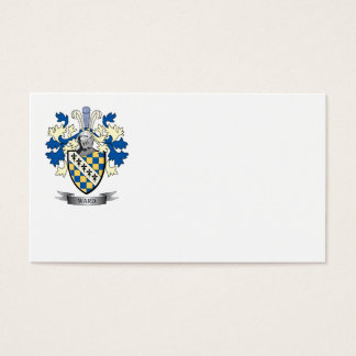 Ward Coat of Arms Business Card