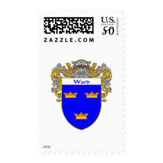 Ward Coat of Arms (Mantled) Postage