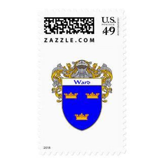 Ward Coat of Arms (Mantled) Postage Stamp