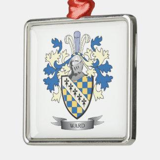 Ward Coat of Arms Metal Ornament