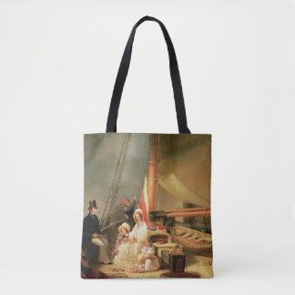 Ward Family aboard the Cutter Guerrilla Tote Bag