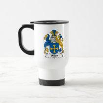 Ward Family Crest Mug