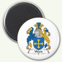 Ward Family Crest Magnet