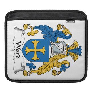 Ward Family Crest iPad Sleeve