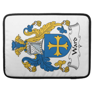 Ward Family Crest MacBook Pro Sleeves