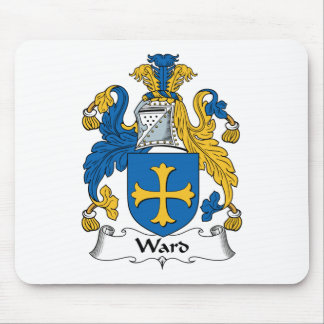 Ward Family Crest Mouse Pad