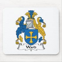 Ward Family Crest Mousepad
